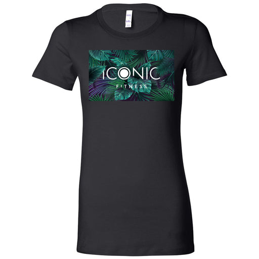 CrossFit Iconic - 200 - Palm - Bella + Canvas - Women's The Favorite Tee