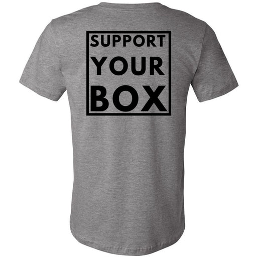 Hub City CrossFit - 200 - Support Your Box - Bella + Canvas - Men's Short Sleeve Jersey Tee
