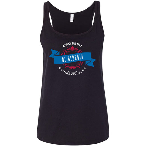 CrossFit NE Georgia - 100 - L1 - Bella + Canvas - Women's Relaxed Jersey Tank