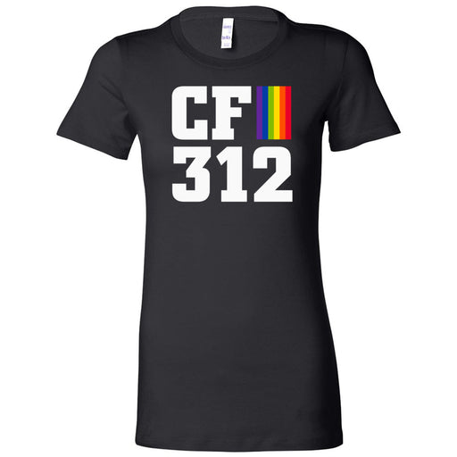 CrossFit 312 - 200 - Pride - Bella + Canvas - Women's The Favorite Tee