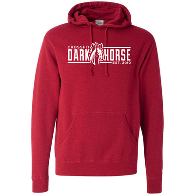 CrossFit Dark Horse - 100 - CDH - Independent - Hooded Pullover Sweatshirt