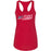 No Excuses CrossFit - 100 - Flag - Next Level - Women's Ideal Racerback Tank