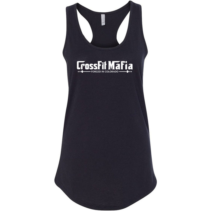 CrossFit Mafia - 100 - Standard - Next Level - Women's Ideal Racerback Tank