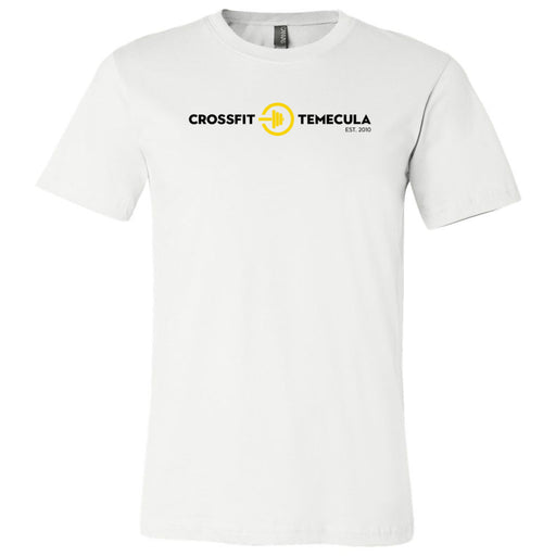CrossFit Temecula - 100 - Standard - Bella + Canvas - Men's Short Sleeve Jersey Tee