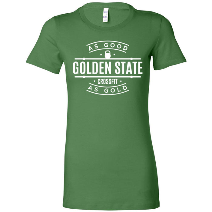 Golden State CrossFit - 100 - As Good As Gold - Bella + Canvas - Women's The Favorite Tee