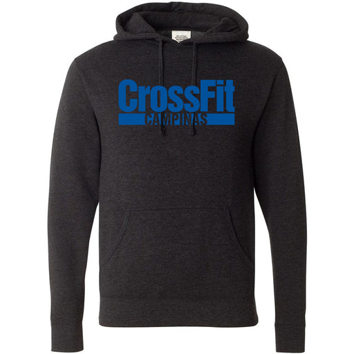 CrossFit Campinas - 100 - Blue - Independent - Hooded Pullover Sweatshirt
