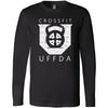 CrossFit UFFDA - 100 - Standard - Bella + Canvas 3501 - Men's Long Sleeve Jersey Tee