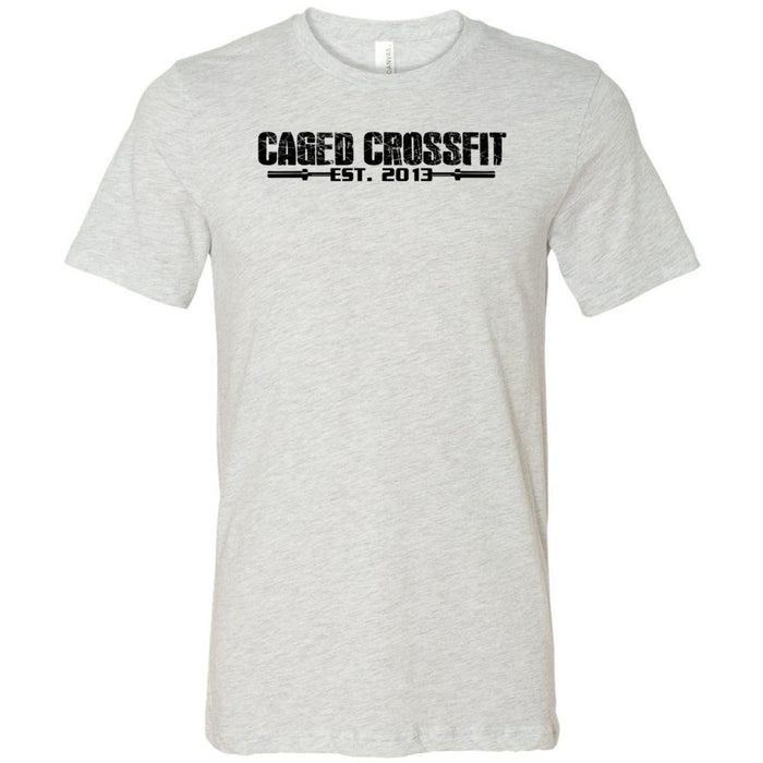 Caged CrossFit - 100 - Standard - Bella + Canvas - Men's Short Sleeve Jersey Tee