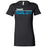 CrossFit Oahu - 200 - Pearl City Blue - Bella + Canvas - Women's The Favorite Tee