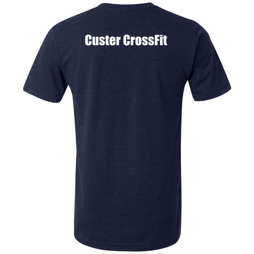Custer CrossFit - 200 - Standard - Bella + Canvas - Men's Triblend Short Sleeve Tee