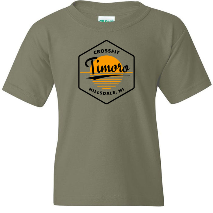 CrossFit Timoro - 100 - AA2 Paradise - Gildan - Heavy Cotton Youth T-Shirt