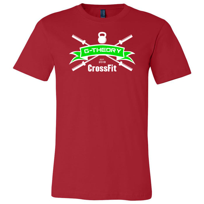 G-Theory CrossFit - 100 - Standard - Bella + Canvas - Men's Short Sleeve Jersey Tee
