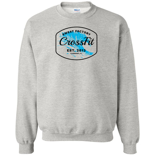 Sweat Factory CrossFit - 100 - KK4 - Gildan - Heavy Blend Crewneck Sweatshirt