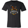 CrossFit Evolution - 100 - Eagle - Bella + Canvas - Men's Short Sleeve Jersey Tee