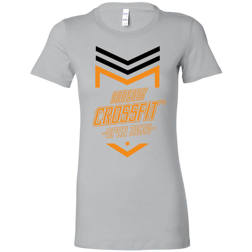 Foundry CrossFit - 100 - 2020 Open Orange - Bella + Canvas - Women's The Favorite Tee