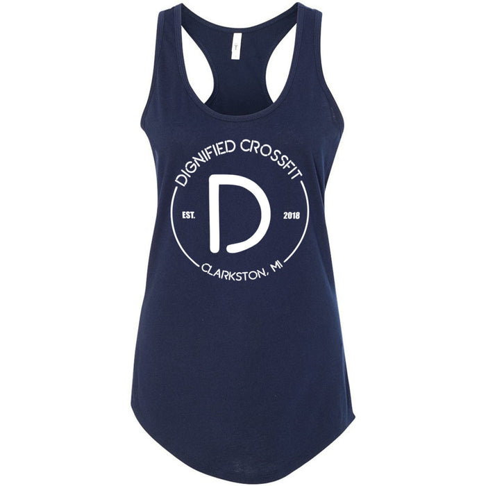 Dignified CrossFit - 100 - Standard - Next Level - Women's Ideal Racerback Tank