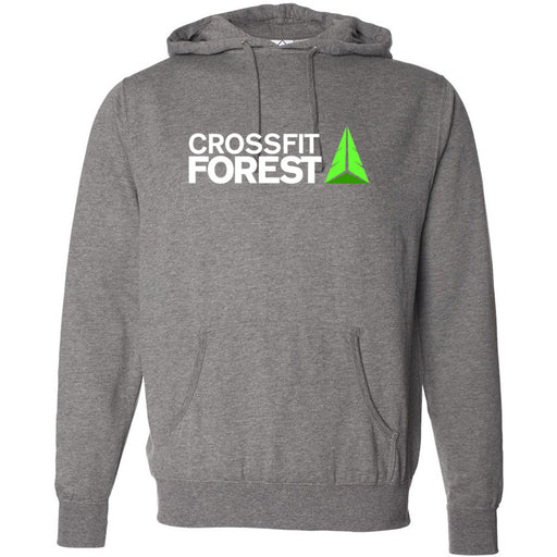 CrossFit Forest - 100 - Standard - Independent - Hooded Pullover Sweatshirt