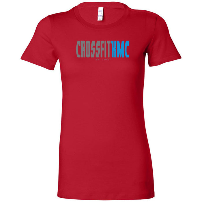 CrossFit KMC - 100 - One Side - Bella + Canvas - Women's The Favorite Tee