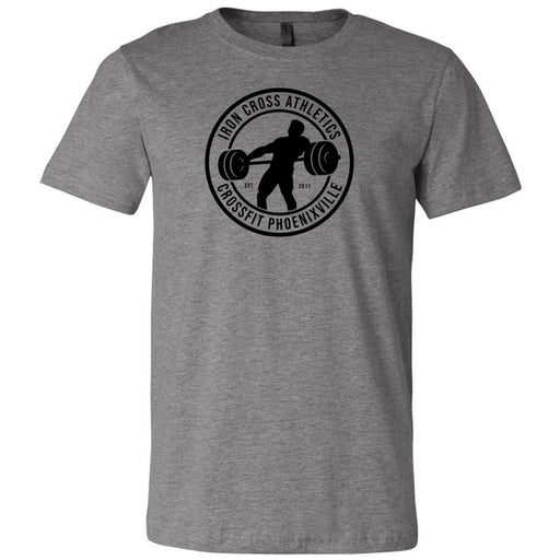 CrossFit Phoenixville - 100 - Standard - Bella + Canvas - Men's Short Sleeve Jersey Tee