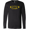 Lander University CrossFit - 100 - Barbell - Bella + Canvas 3501 - Men's Long Sleeve Jersey Tee