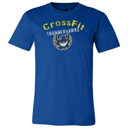 CrossFit ThunderHawk - 100 - ThunderHawks - Bella + Canvas - Men's Short Sleeve Jersey Tee