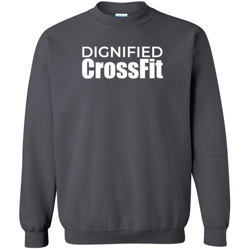 Dignified CrossFit - 100 - Stacked - Gildan - Heavy Blend Crewneck Sweatshirt