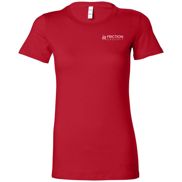 Friction CrossFit - 100 - Pocket - Bella + Canvas - Women's The Favorite Tee