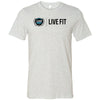 Clermont CrossFit - Live Fit - Bella + Canvas - Men's Short Sleeve Jersey Tee