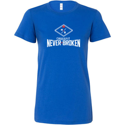 CrossFit Never Broken - 100 - Stacked - Bella + Canvas - Women's The Favorite Tee
