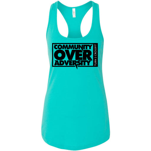 Turn 2 CrossFit - 100 - Community - Next Level - Women's Ideal Racerback Tank