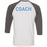 Wells Street CF - 202 - Coach - Bella + Canvas - Men's Three-Quarter Sleeve Baseball T-Shirt