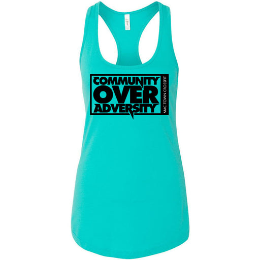 Mac Town CrossFit - 100 - Community - Next Level - Women's Ideal Racerback Tank