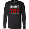 CrossFit TNT - 100 - Red TNT - Bella + Canvas 3501 - Men's Long Sleeve Jersey Tee