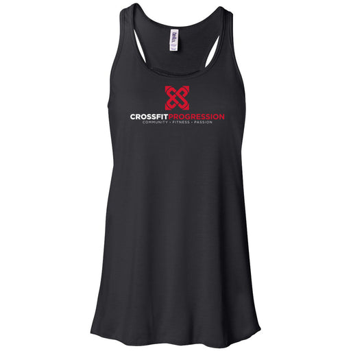 CrossFit Progression - 100 - Standard - Bella + Canvas - Women's Flowy Racerback Tank