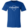 CrossFit Chicago Heights - 100 - Illinois - Bella + Canvas - Men's Short Sleeve Jersey Tee