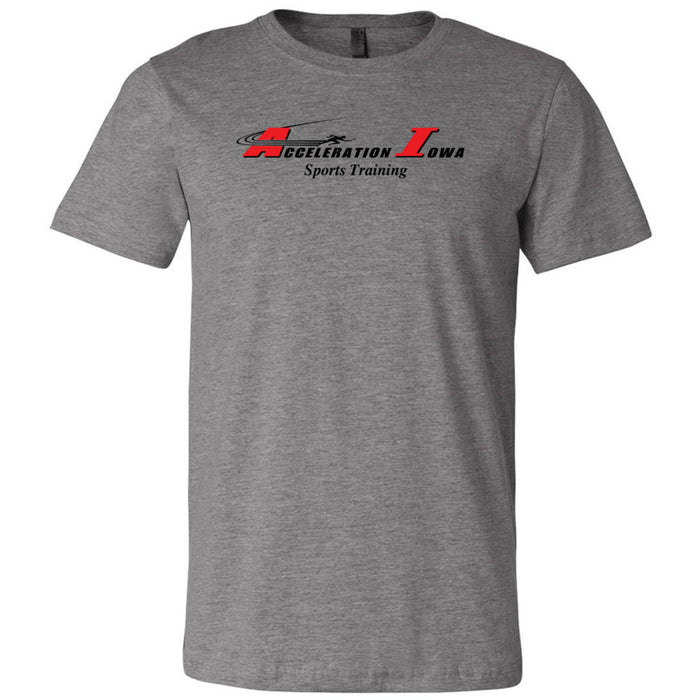 CrossFit Waukee - 200 - Acceleration Iowa - Bella + Canvas - Men's Short Sleeve Jersey Tee