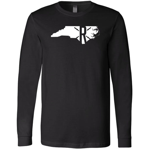 CrossFit Rolesville - 202 - State - Bella + Canvas 3501 - Men's Long Sleeve Jersey Tee