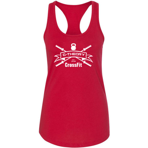 G-Theory CrossFit - 100 - One Color - Next Level - Women's Ideal Racerback Tank
