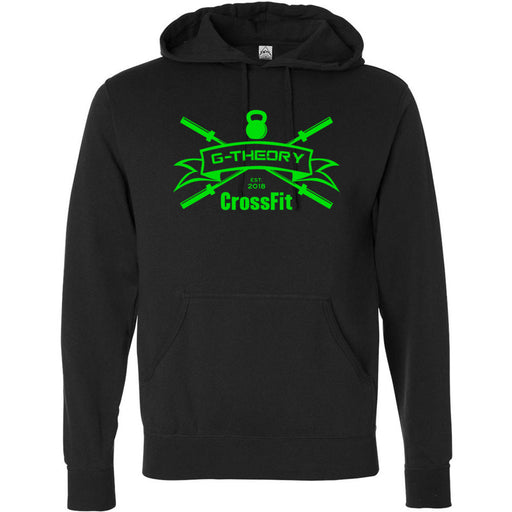 G-Theory CrossFit - 100 - Standard Green - Independent - Hooded Pullover Sweatshirt