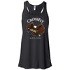 CrossFit North Peoria - 100 - Brown Eagle - Bella + Canvas - Women's Flowy Racerback Tank