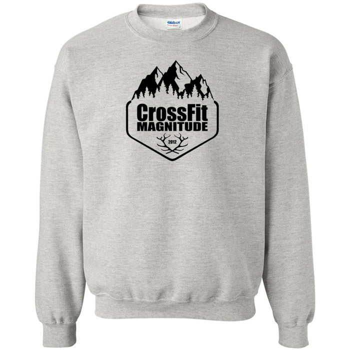 CrossFit Magnitude - 100 - One Color - Gildan - Heavy Blend Crewneck Sweatshirt
