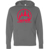 CrossFit Oakdale - 100 - Calibear Red - Independent - Hooded Pullover Sweatshirt