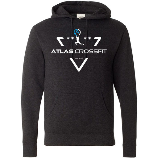 Atlas CrossFit - 100 - Crest - Independent - Hooded Pullover Sweatshirt