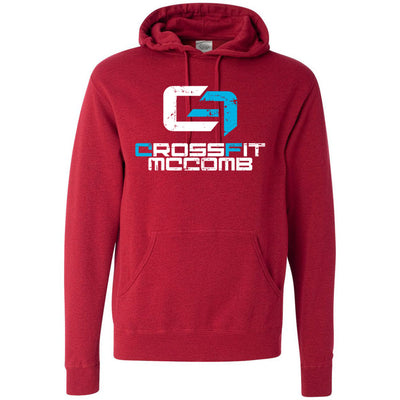 CrossFit McComb - 100 - Standard - Independent - Hooded Pullover Sweatshirt
