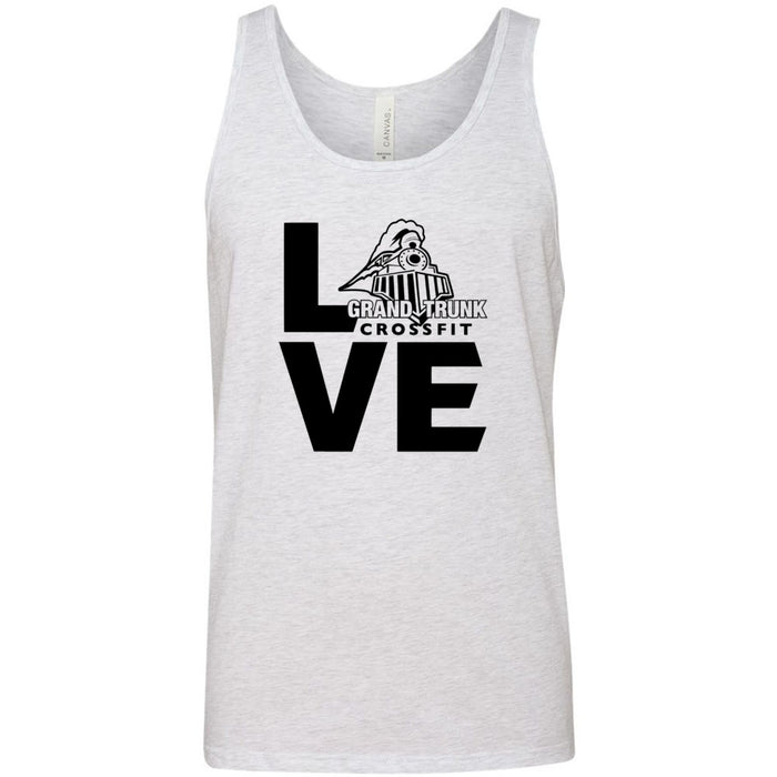 Grand Trunk CrossFit - 100 - LOVE - Bella + Canvas - Men's Jersey Tank