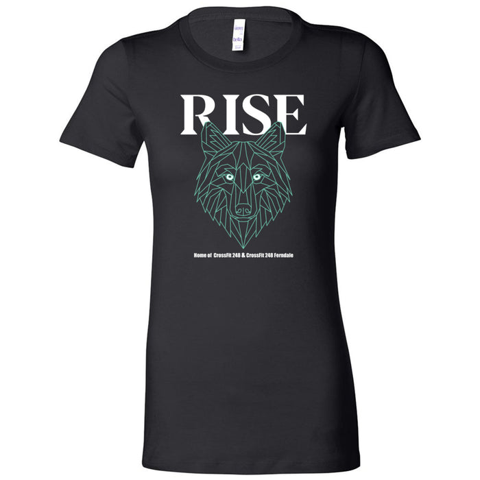 CrossFit 248 - 100 - Rise Athletics - Bella + Canvas - Women's The Favorite Tee