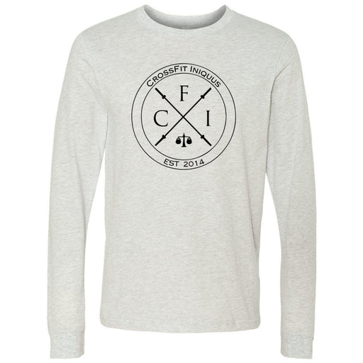 CrossFit Iniquus - 202 - CFI - Bella + Canvas 3501 - Men's Long Sleeve Jersey Tee