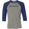 Kato CrossFit - 100 - Standard - Bella + Canvas - Men's Three-Quarter Sleeve Baseball T-Shirt