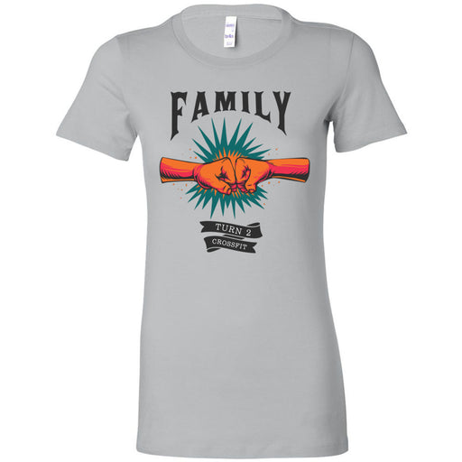 Turn 2 CrossFit - 100 - Family - Bella + Canvas - Women's The Favorite Tee