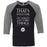 CrossFit Pittsburgh - 100 - I Know Things - Bella + Canvas - Men's Three-Quarter Sleeve Baseball T-Shirt